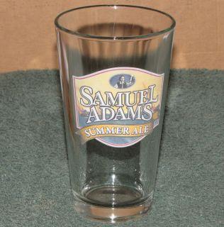 Samuel Sam Adams Summer Ale Pint Beer Glass