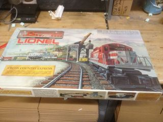 Lionel Trains Cross Country Express Ready to Run Set 6 1072