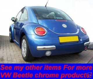 vw new beetle chrome rear light covers save were £