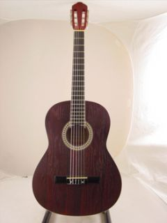 40 Dark Cherry Nylon String Classical Acoustic Guitar