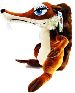 Ice Age 3 Squirrel Scratte Plush Cute 24 Big New