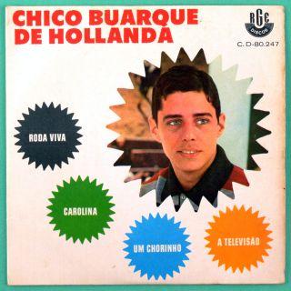 Chico Buarque Roda Viva 67 MPB Bossa Samba EP Brazil