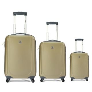 Benzi 3 Piece Hardsided Spinner Luggage Set Black BZ3789BLACK