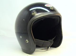 VINTAGE Bell RT R T Motorcycle Helmet 1970s with Visor & Sheild