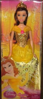 Disney Sparkling Princess Belle Beauty and The Beast Doll