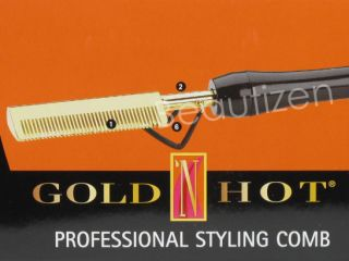 Belson Gold N Hot Professional Styling Hot Comb GH299