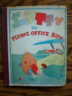 Flying Office Boy Vintage 1930 Walter Berndt Cartoon Comic Book