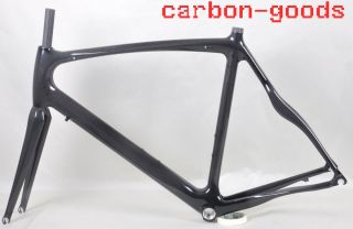 Carbon Frame Road Bike Frame Bicycle Frame 3K Glossy Finish Fork RB004