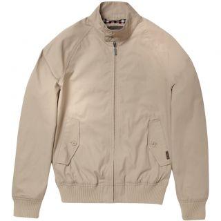 Ben Sherman Mens Classic Harrington Moon Beige Retro Mod Jacket UK s