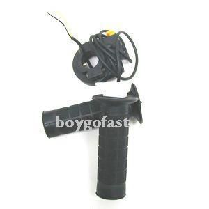 Bicycle Motorized Bike Gas Engine Throttle Black w Switich