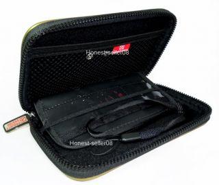 Black Hard Carry Pouch Case Bag for Nintendo NDSL DSL DSi NDSi DS Lite