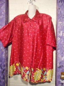 PC Magenta Shirt Top Cropped Pants Set Suit Pretty Pink Plus Size 3X