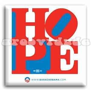 President Barack Obama Joe Biden 2008 Hope Square Political Campaign
