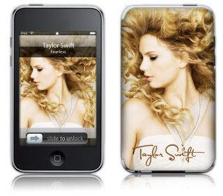 Taylor Swift Fearless iPod Touch 4th Generation Cover Skin