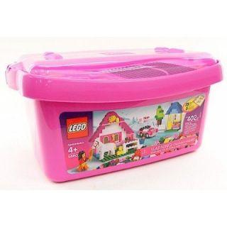 Lego 5560 Pink Brick Box Large Set 402 PC New in Box