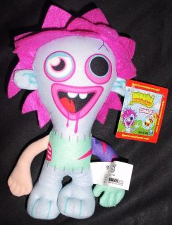 New Moshi Monster Zommer Plush Figure with Secret Code
