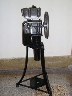 FULLY ASSEMBLED BIG STIRLING ENGINES RUN ON ANY HEAT SOURCE FLY WHEEL
