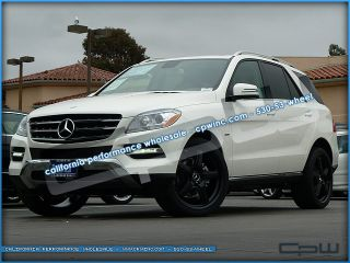 22 inch for Mercedes Benz Matte Black Wheels ml Rims
