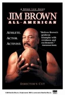 Jim Brown All American Spike Lee Documenary DVD New