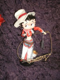 Private Collection Danbury Mint 16 Porcelain Betty Boop COWGIRL