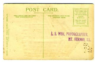 Betz Girard Philadelphia Hold to Light Postcard Koehler