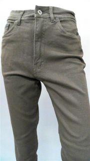 Bill Blass Jeans Misses 4 Stretch Color Denim Skinny Brown Designer