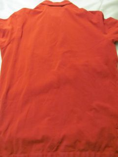 POLO RALPH LAUREN mens XL Red POLO RUGBY Short Sleeve SHIRT  381