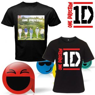 NEW ONE DIRECTION LITTLE THINGS TWO SIDE BLACK TEE SHIRT S,M,L,XL,2XL