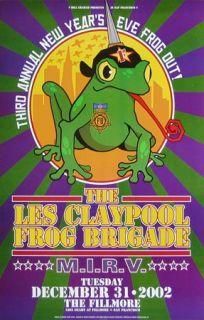 original 2002 concert poster Bill Graham Presents #F551