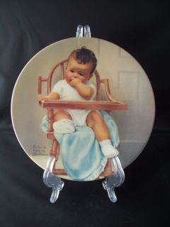 Vintage 1981 His Majesty Plate Bessie Pease Gutmann Art