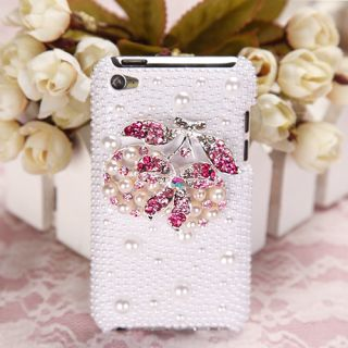 Best New Apple iPod Touch 4 Case Cover Pearl 3D Diamond Delicious
