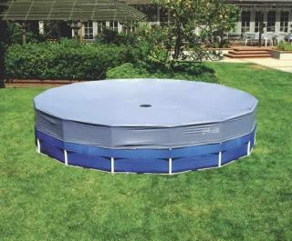 Round Frame Pool Cover Intex Summer Escapes Sand N Sun Bestway
