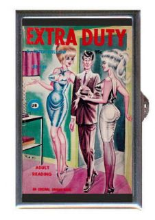 Bill Ward Pin Up Sexy Duty Coin Mint Guitar Pick or Pill Box MADE IN