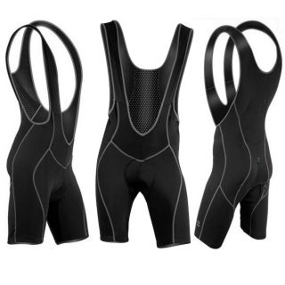Hot 2012 Mens Cycling Bicycle Bike Bib Shorts 3D Gel Padded Braces