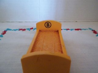Vintage Fisher Price Sesame Street Berts Bed B Color Yellow L K T