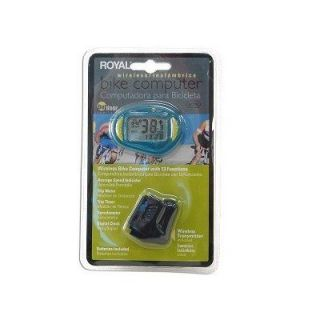 New Royal Wireless Bicycle Bike Computer Speedometer
