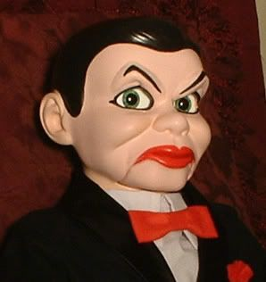 Haunted Dead Silence Ventriloquist Doll Eyes Follow You