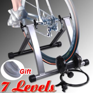 Resistance Bicycle Trainer 7 Levels Bike Stand Stationary Indoor