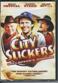 City Slickers DVD Billy Crystal Daniel Stern Bruno Kirby NEW