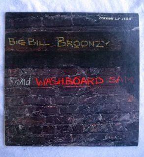 Big Bill Broonzy Washboard Sam Chess Mono Black Label Original Blues