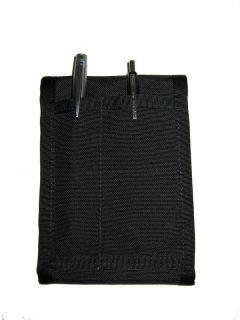 Pocket Field Binder Notebook Army Black by Raine