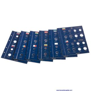 Lighthouse Euro Coin Album Vol 1 for Old Euro Countries