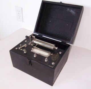Antique Medical Battery Quack Frank Betz Early 1900s