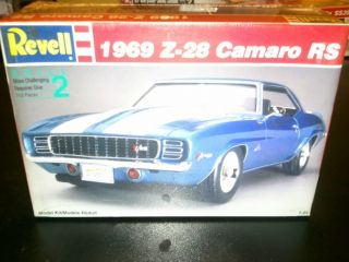 Revell 1969 Chevy Camaro Z 28 RS Model Kit Nibfree SHIP