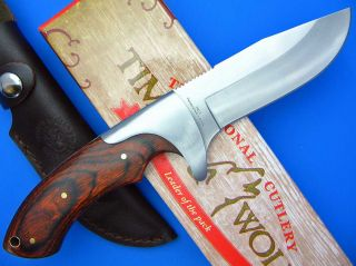 Timber Wolf Fixed Blade Bowie Hunting Knife New