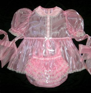 adult sissy baby super shin mirror baby tea dress m