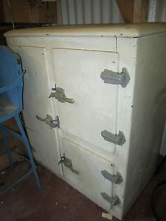 antique ice box vintage l k time left $ 329