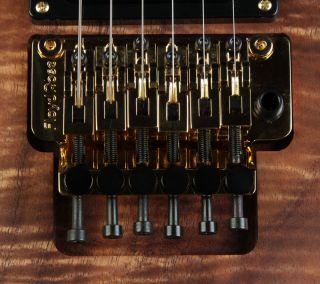 Custom Limited Koa N4 Nuno Bettencourt Electric Guitar w/ Floyd Rose