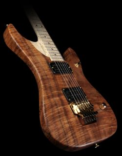Custom Limited Koa N4 Nuno Bettencourt Electric Guitar w/ Floyd Rose