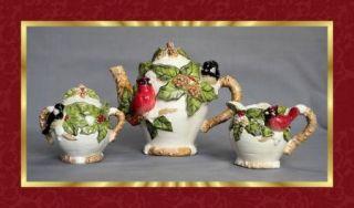 1920 Art Deco Tea Pot Set Arts Crafts Bauhaus Machine Age Silver Plate